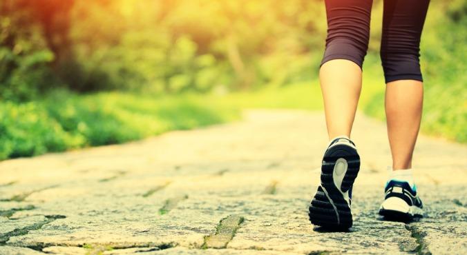 تمرین پیاده روی