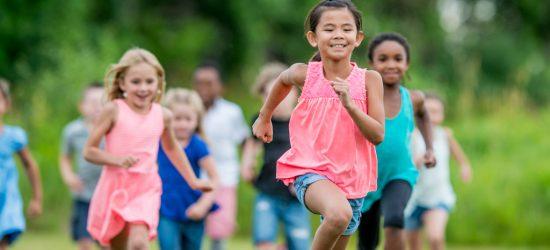 اهمیت ورزش برای کودکان در دویدن