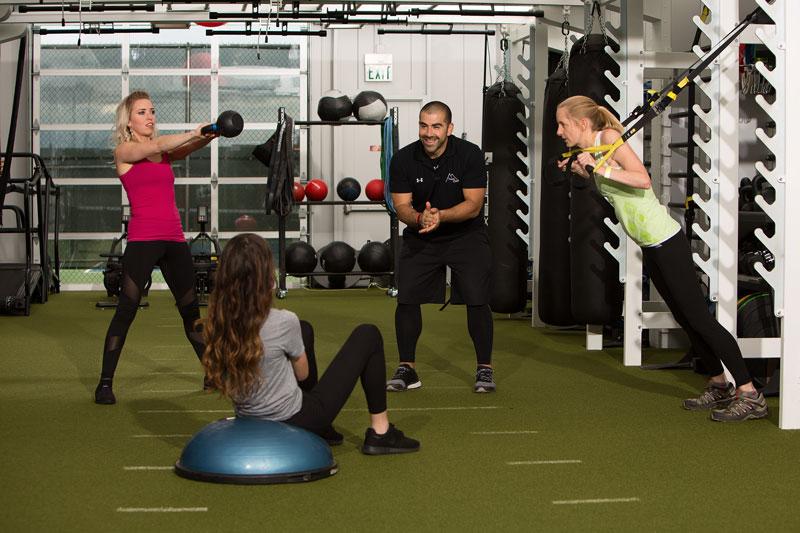 تنوع تمرینی در برنامه تمرینی بدنسازی بانوان