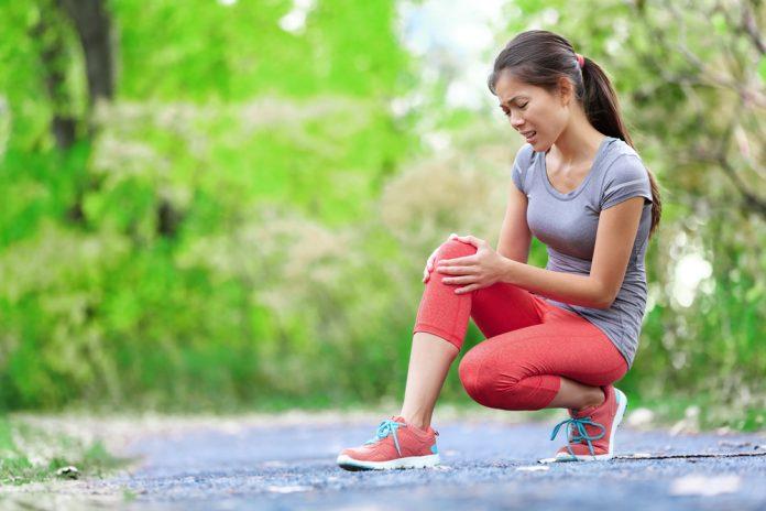 زانو درد هنگام پیاده روی
