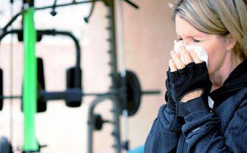 ورزش در هنگام سرماخوردگی