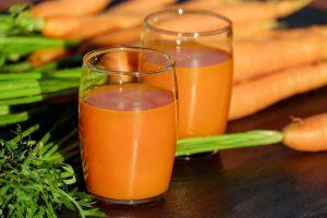 آب هویج بعد از تمرین ریکاوری