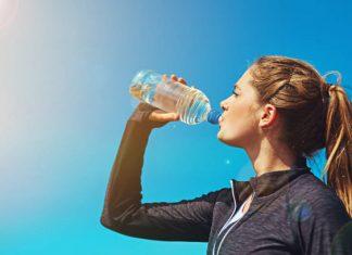 آب خوردن قبل، حین و بعد از ورزش